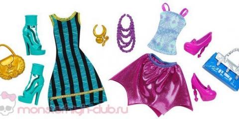 Промо-фото 2-пеков фешнпаков (набори одягу): дракулаури + лагуна блю і клео де ніл + спектра вондергейст (арі хонтінгтон)